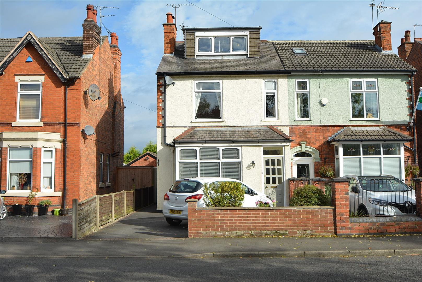 3 Bedrooms Semi Detached House for sale in Derby Road, Draycott